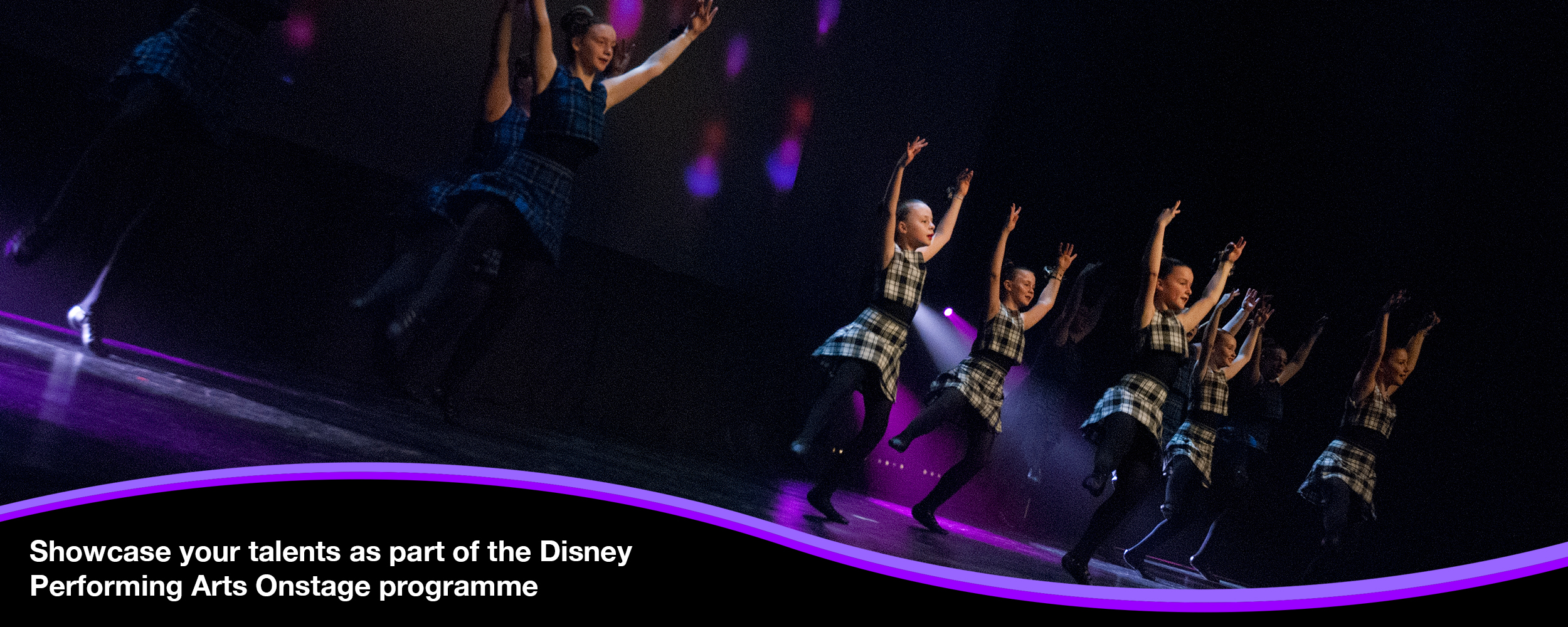 International Gethering of Scottish Highland Dance at Disneyland® Paris